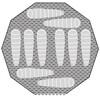 Robens Mohawk Tentaccessoires textiel bruin